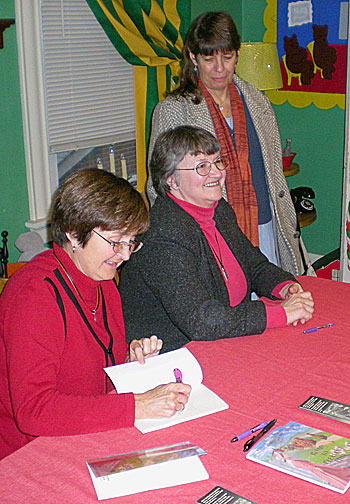 signing for Carol A